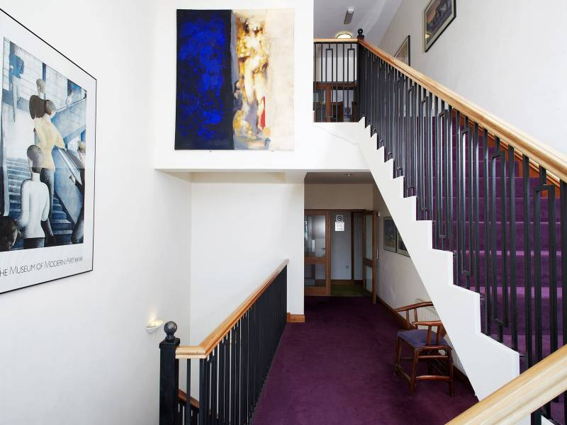 Lancaster Lodge, Interiors: Stairs