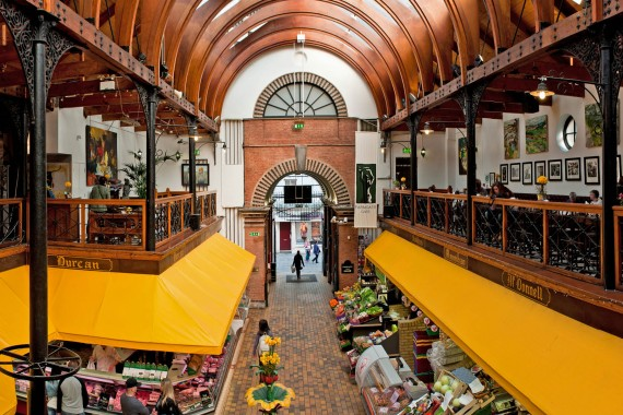The English Market (5-10 mins walk)