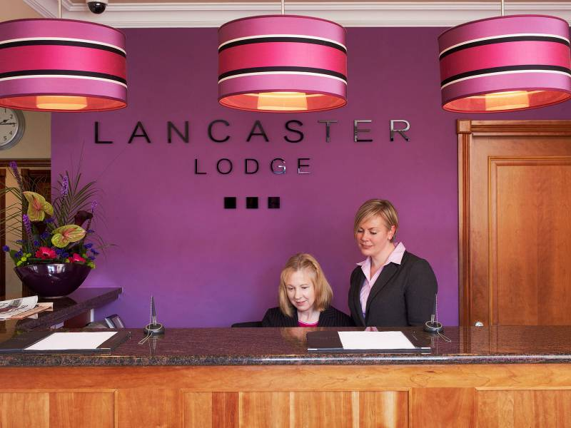Lancaster Lodge, Interiors: Lodge Reception